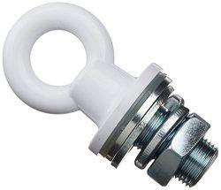 Custom Molded Products 25568-300-000 Rope Eye Male Receptor White