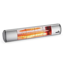 Sundate Electric Patio Heater, Indoor/Outdoor Wall Mounted Infrared Heater, Golden Tube, QW15