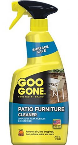 Goo Gone Patio Furniture Cleaner – Removes Dirt, Bird Droppings, Food, Mildew Stains and M ...