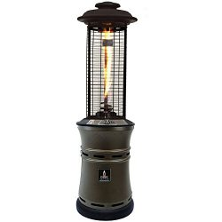 Ember Collapsible Natural Gas Patio Heater – Heritage Bronze