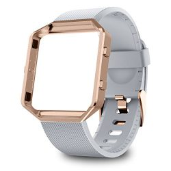 GreenInsync Fitbit Blaze Bands for Women, Fitbit Blaze Accessory Replacement Band Adjustable Wri ...
