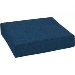 Mainstay.. Durable 100% Polyester Outdoor Patio Deep Seat Bottom Cushion (Solid Navy)