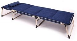 Sun Bed Patio Garden Beach Sofa Recliner Chairs Comfortable Sleeping Folding Side Bed Lounge Cha ...