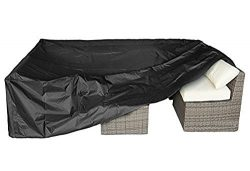WOMACO 126 Inches Patio Furniture Cover – Outdoor Furniture Lounge Porch Sofa Waterproof D ...