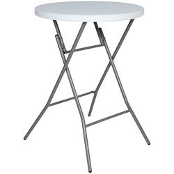 Best Choice Products 32″ Folding Bar Table For Indoor and Outdoor