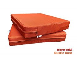 QQbed Outdoor Patio Chair Washable Cushion Pillow Seat Covers 20″X18″X4″ or 24 ...