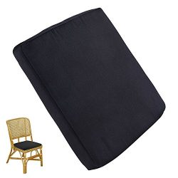 Enjoygous 2 Pack Outdoor Chair Cushions, Patio Seat Pads Mat for Dining Chairs, Waterproof Remov ...