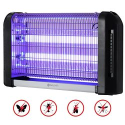 Electronic Bug Zapper Light, YUNLIGHTS 20W Mosquito Killer Insect Fly Trap for Garage Kitchen Of ...