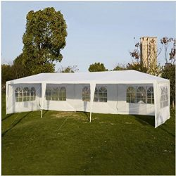 10'x30′ Party Wedding Outdoor Patio Tent Canopy Heavy duty Gazebo white Event ;suppl ...