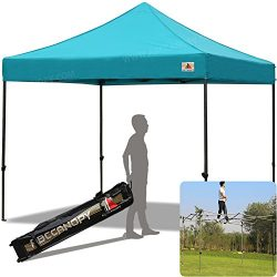 ABCCANOPY 30+colors Pop Up Canopy 10 X 10-feet Commercial Instant Canopy Kit Ez Pop up Tent,Bonu ...