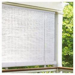 Lewis Hyman Radiance 0320156 Vinyl PVC Roll Up Blind, White, 60 Inch Wide x 72 Inch Long