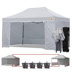 ABCCANOPY 18+ colors Deluxe 10×15 Pop up Canopy Outdoor Party Tent Commercial Gazebo with E ...