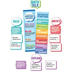 Creative Teaching Press Math Talk Mini Bulletin Board, Grade 3 & Up (1756)
