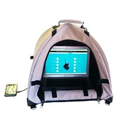 LapDome – Portable Sun Shade & Weather Protecting Carrying Case for Laptop / Tablet /  ...
