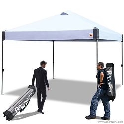 ABCCANOPY 10×10 Outdoor Pop up Portable Shade Instant Folding Better Air Circulation Canopy ...