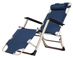 LandTrip Foldable Zero Gravity Lounge Chair outdoor Patio Leisure Seat with Pillow
