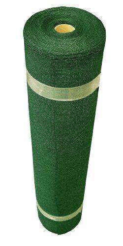 Coolaroo Extra Heavy Shade Fabric Roll, 12′ x 50′, Heritage Green