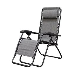 Caravan Sports Infinity Zero Gravity Chair, Grey
