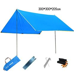 Canopy tent outdoor simple large leisure awning pergola sunscreen rain shelter beach outing camp ...