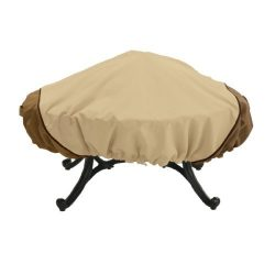 Classic Accessories Veranda 44-Inch Round Fire Pit Cover Size: Small, Model: 78992, Home/Garden  ...
