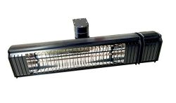 Muskoka Lifestyle Products 1500 Watt Infrared heater with full up and down and side to side adju ...