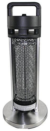 HeTR H1013UPS Indoor/Outdoor Rated Radiant Tower Heater, 24-Inch