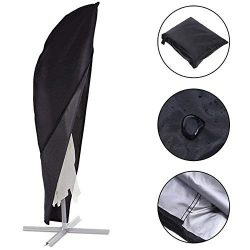 SheeChung Patio Offset Umbrella Cover – 9ft to 11ft Cantilever Umbrella Cover, 9/10 / 11 f ...