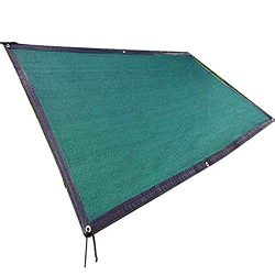 Pergola Sunshade Net Sunscreen Insulation Polyethylene Encryption Breathable Gazebo, Dark Green  ...
