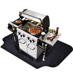 "Gas Grill Mat (36"" x 60"") , Grilling Gear for Gas / Electric Grill – Absorbent Water ..."