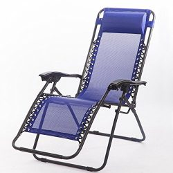 FDW Zero Gravity Lounge Chairs Recliner Outdoor Beach Patio Garden Folding Chair