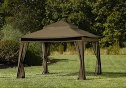 10 x 10 portable pop up Gazebo Canopy / Mosquito Netting