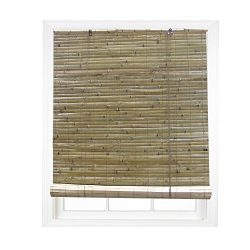 RADIANCE 0108109 Laguna Bamboo Shade Roll Up Blind, 96-Inch Wide by 72-Inch Long