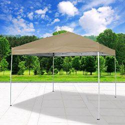 Cloud Mountain Pop Up Canopy Tent 118″ x 118″ UV Coated Outdoor Garden Instant Canop ...