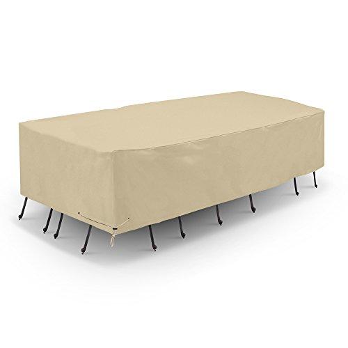 Sunpatio Outdoor Rectangular Table Amp Chair Cover Patio