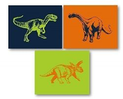 Dinosaur Art for Kids Room – Dino Decor, Dinosaur Wall Art, Dinosaur Nursery Decor, Dinosa ...