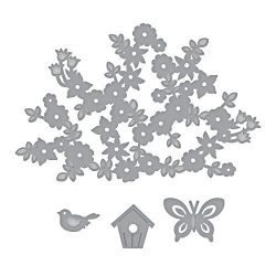 Spellbinders Shapeabilities Spring Canopy and Elements Etched Die Set