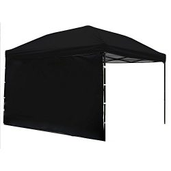 Punchau Pop Up Canopy Tent with Sidewall 10 x 10 Feet – UV Coated, Waterproof Instant Outd ...