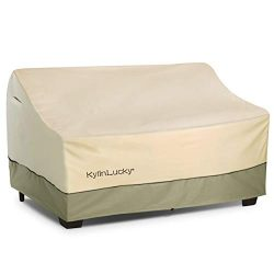 KylinLucky Patio Bench/Loveseat /Sofa Cover -Outdoor Furniture Cover with Durable and Water Resi ...