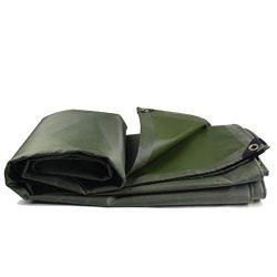 Qz Green Tarp Waterproof Heavy Duty PVC with Grommets Tarpaulin Swimming Pool Roof Pergola Auto  ...