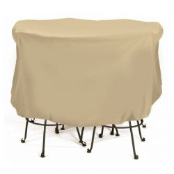 Smart Living 2D-PF74005 Bistro Set Cover With Level 4 UV Protection, 74-Inch x 44-Inch, Large, Khaki