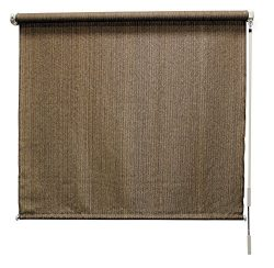Coolaroo Outback Exterior Roller Shade, Cordless Roller Shade with 95% UV Protection and Full Va ...