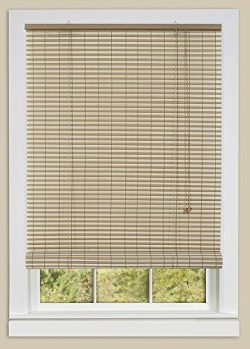 Achim Home Furnishings Ashland Roll Up Blinds , 36-Inch by 72-Inch, Desert/Almond