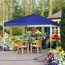 FurniTure Canopy Outdoor Canopy Tent 10′ x 10′ Easy Set Up with Hand Bag Pop Up Cano ...