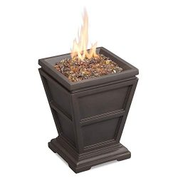 Endless Summer GLT1343B LP Gas Outdoor, Brown Firepit