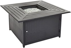 AmazonBasics Propane Table Fire Pit, Black, Model 62515