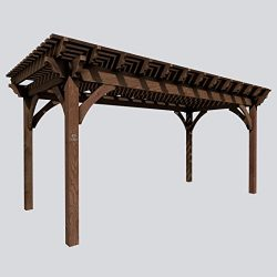 SHADESCAPE – 10×12 Pergola – 6,000 Series Heavy Timber Kit – 6×6 Pos ...
