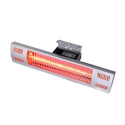 Star Patio Electric Patio Heater, Indoor/Outdoor Heater, Space Heater, Infrared Heater, Wall Mou ...