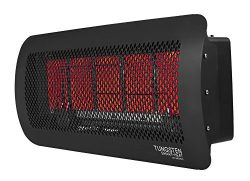 Bromic Heating Tungsten 500 Smart-Heat Gas 5 Burner Radiant Infrared Patio Heater, Natural Gas,  ...