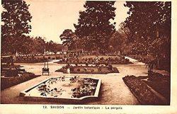 Jardin botanique, La Pergola Saigon Vietnam, Viet Nam Postcard