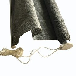 Shatex Outdoor Roller Shade Exterior Roller Chain Shade 6x8ft Grey